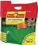 Wolf Garten Rasen-Langzeitdünger, organischesMaterial, grün, 33 x 26 x 13 cm, 636049