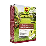Compo FLORANID Rasendünger plus Unkrautvernichter, 3 Monate Langzeitwirkung, Feingranulat, 6 kg, 200 m²