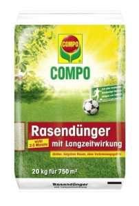 Compo Rasendünger mit Langzeitwirkung 750qm