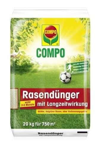 Compo Rasendünger mit Langzeitwirkung