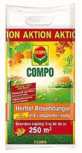Compo Herbstrasendünger mit Langzeitwirkung