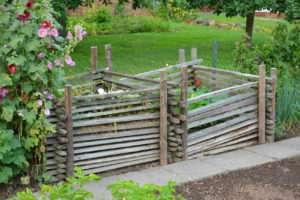 Gartenabfälle für ein schönes Grün
