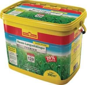 WOLF Garten Langzeit-Rasendünger Premium