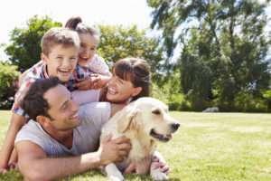 Ein gepflegter Rasen - eine Wohltat für die ganze Familie