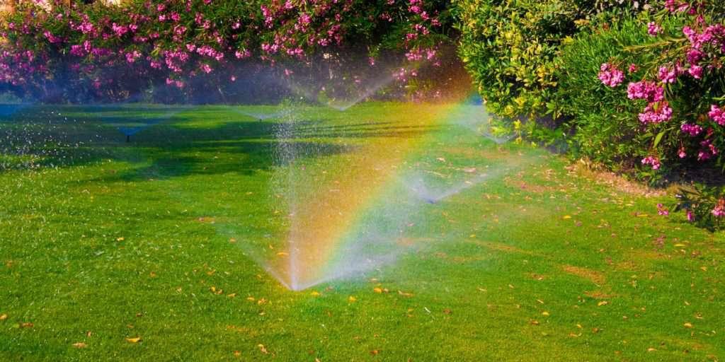 Springleranlage zur automatischen Bewässerung