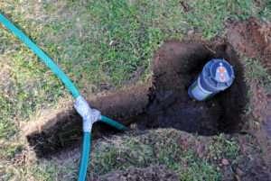 automatische Sprinkleranlage installieren