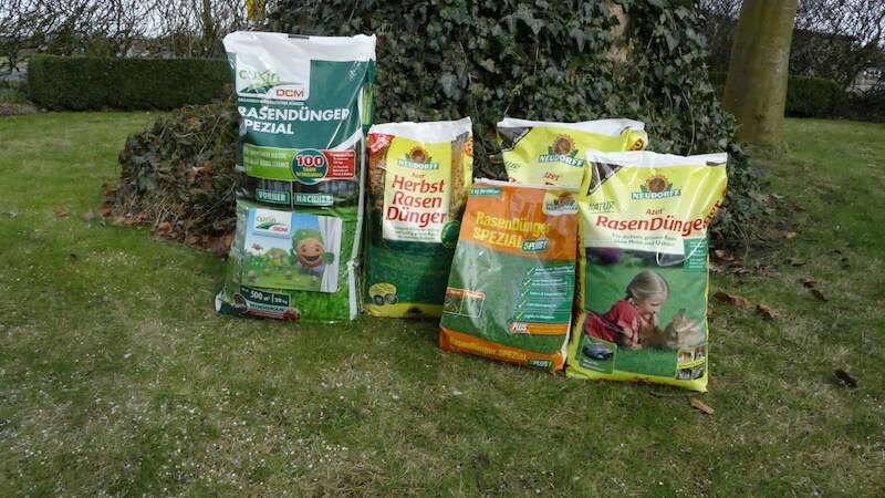 Rasendünger Test Cuxin und Neudorff