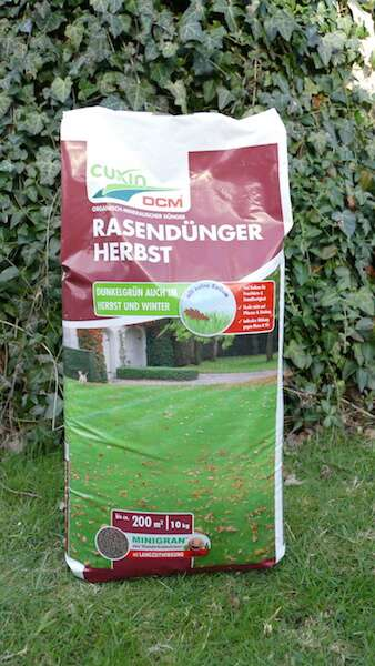 Cuxin Rasendünger Herbst 20kg Rasenduengerde
