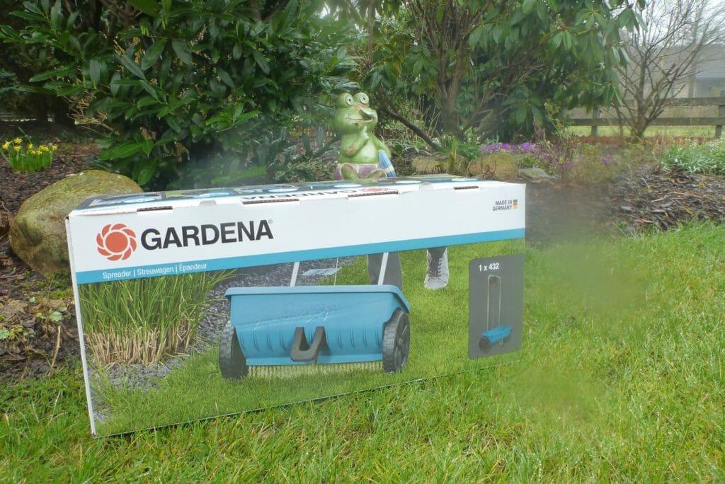Gardena Streuwagen L Original Verpackung